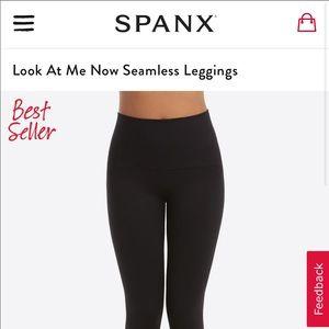 SPANX Look at me Now seamless leggings